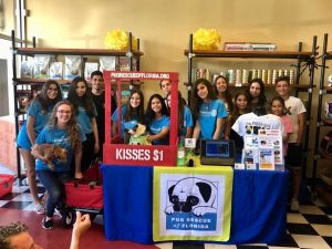 Interact Club of Brazil Orlando no evento PUG RESCUE.