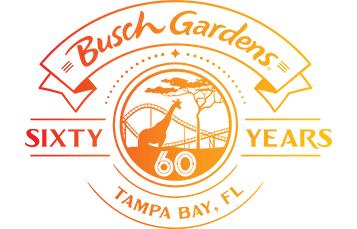 60 anos do Busch Gardens
