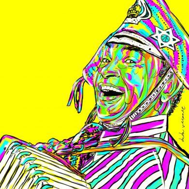Duda Veronez,  o artista por trás dos famosos painéis coloridos