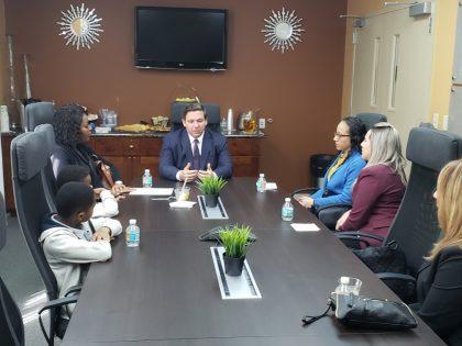 Luciana Durço se reúne com Governador da Flórida Ron DeSantis