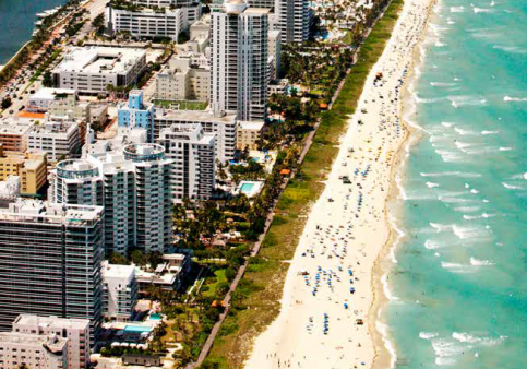 Praias Miami