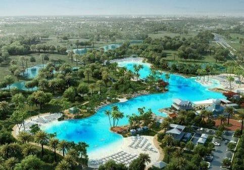 Crystal lagoon