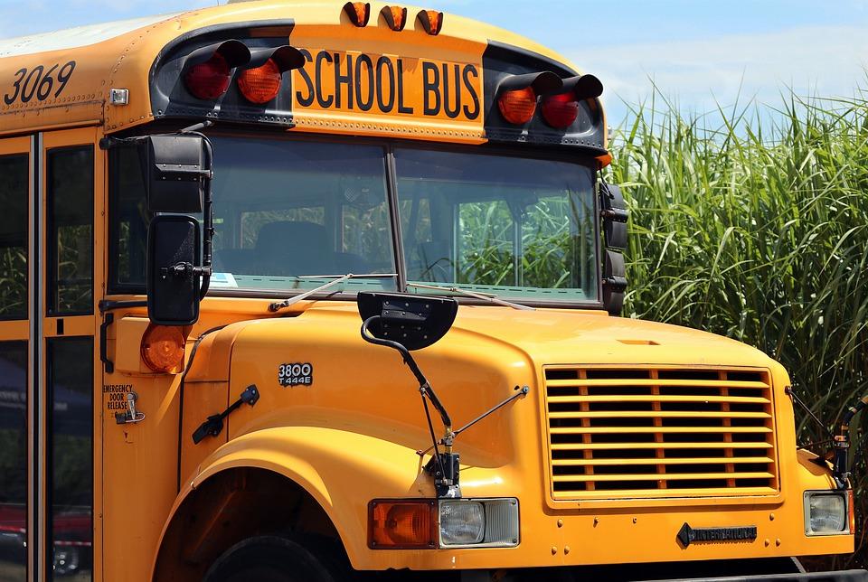 Ônibus escolar – Quando parar?